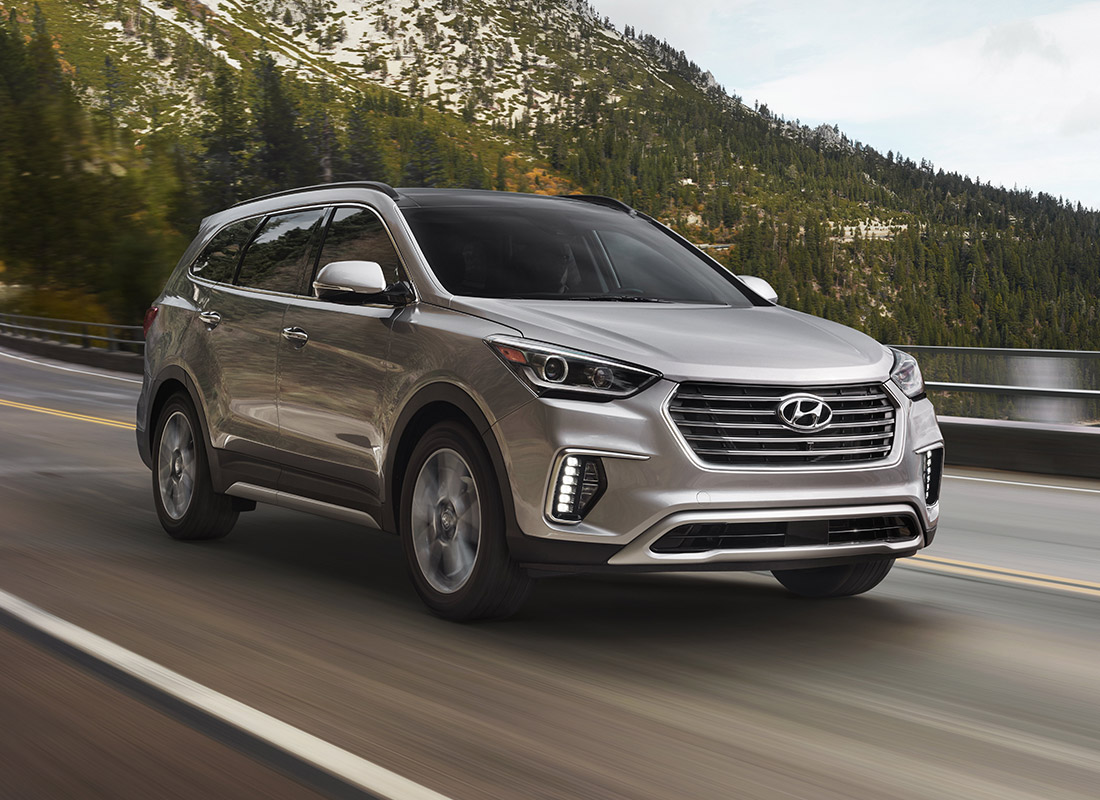 Explore In Confidence And Comfort With The 2017 Santa Fe XL | Hyundai