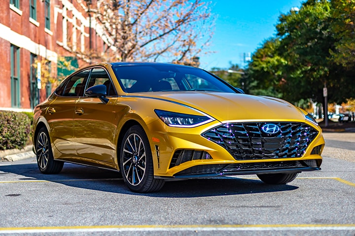The NEW Hyundai Sonata has a Feature from a $150,000 BMW