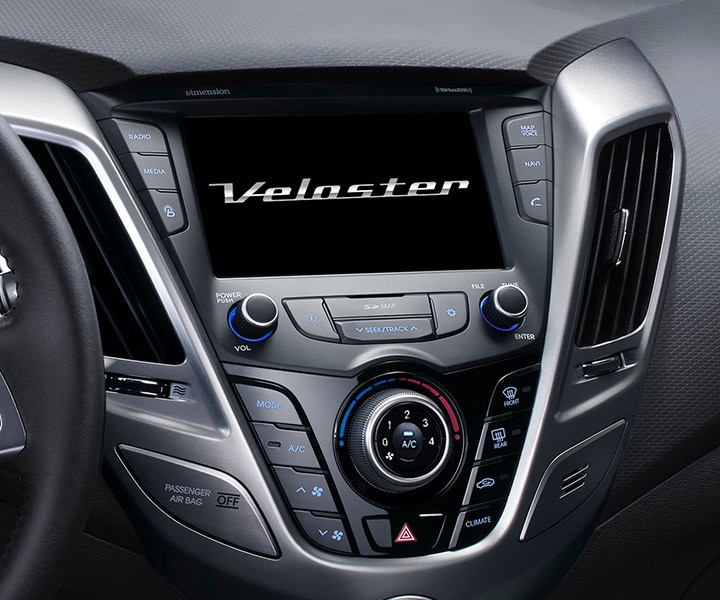 Image of Hyundai Veloster 2016 seven inch touch-screen multimedia system