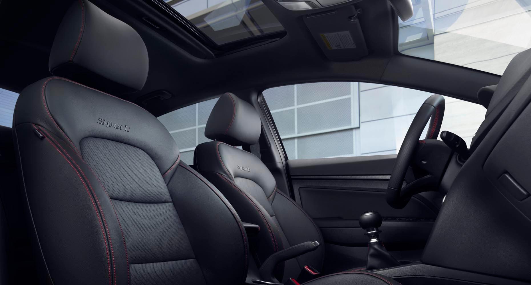 Hyundai Elantra: Seat belt restraint system