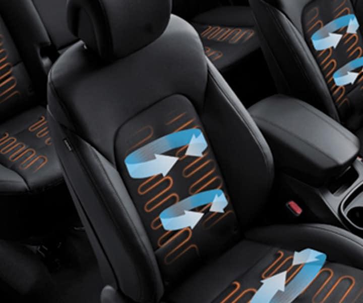 Hyundai 6 Passenger: Santa Fe Seat Covers 2017