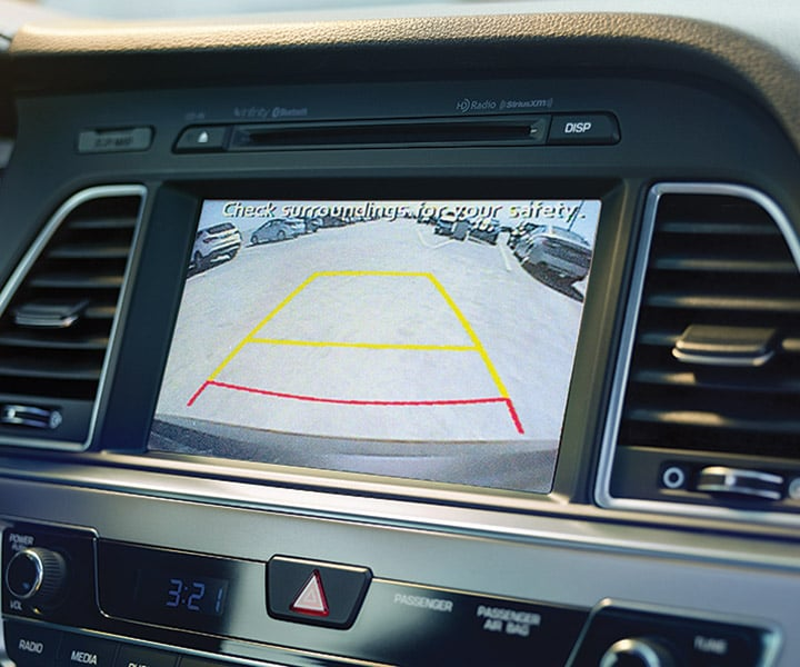 "8"" Touch Screen Navigation System in the 2017 Hyundai Sonata Sedan"