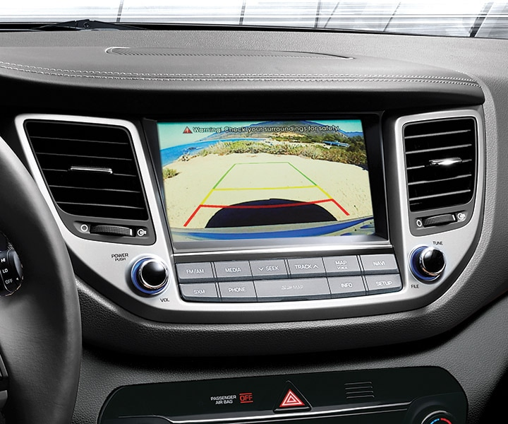 Tucon Rearview Camera