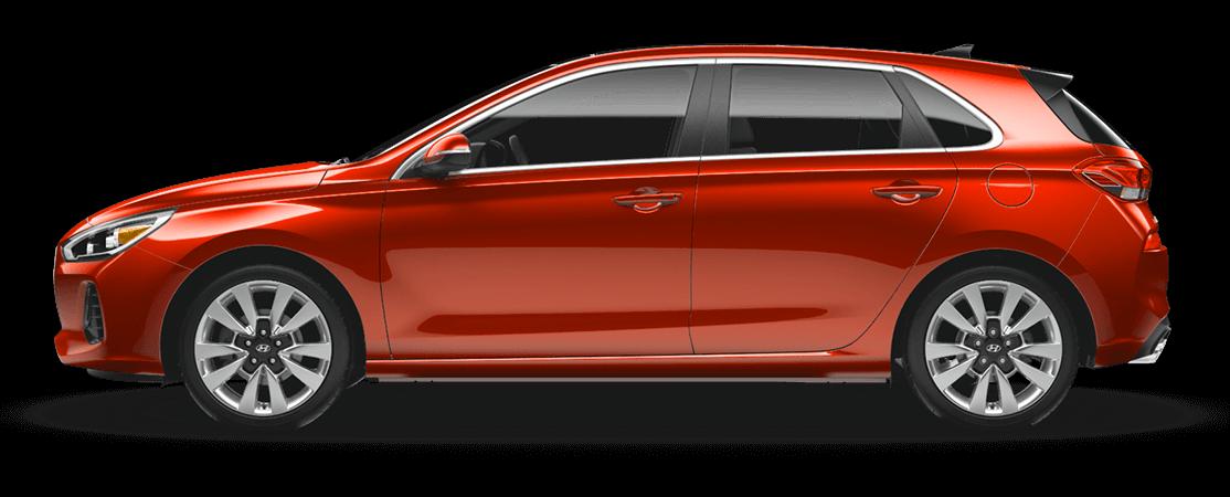 Hyundai ELANTRA GT 2018 Orange phénix