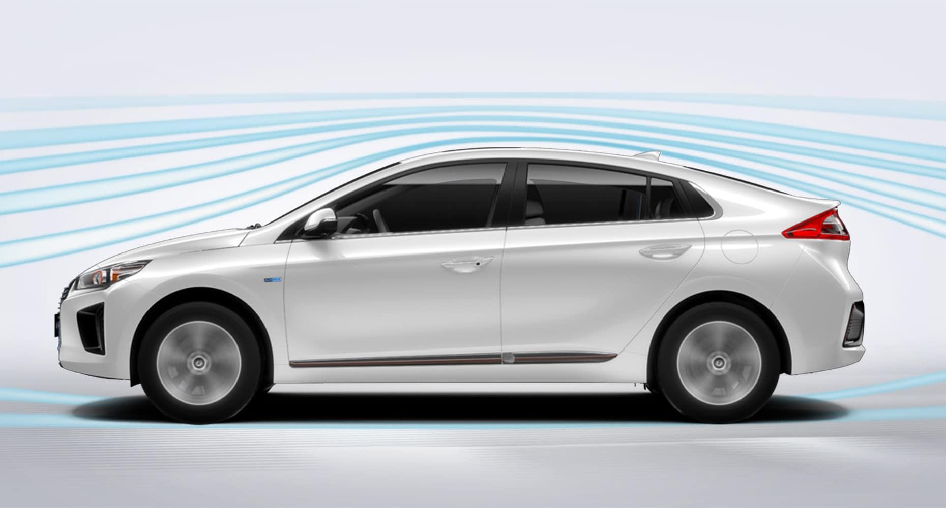 2019 Hyundai Ioniq Ev Ultimate Model Shown With Black Leather