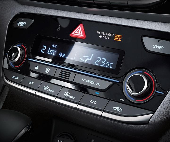 Dual-zone Automatic Temperature Control