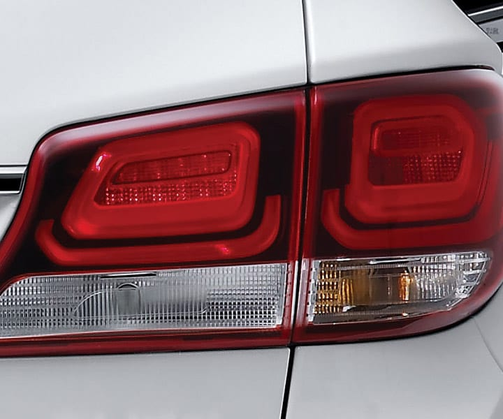 Exterior photo of Hyundai Santa Fe XL 2018 sleek looking LED tail lights