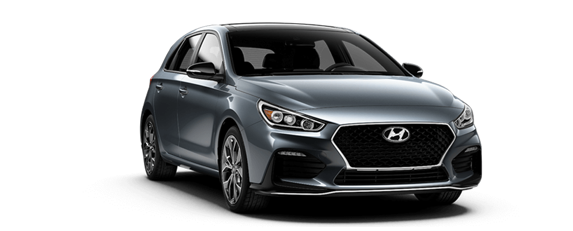 Hyundai ELANTRA GT N Line 2019 Gris fer