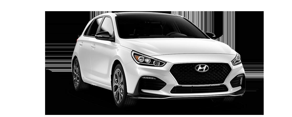 Hyundai ELANTRA GT N Line 2019 Blanc polaire