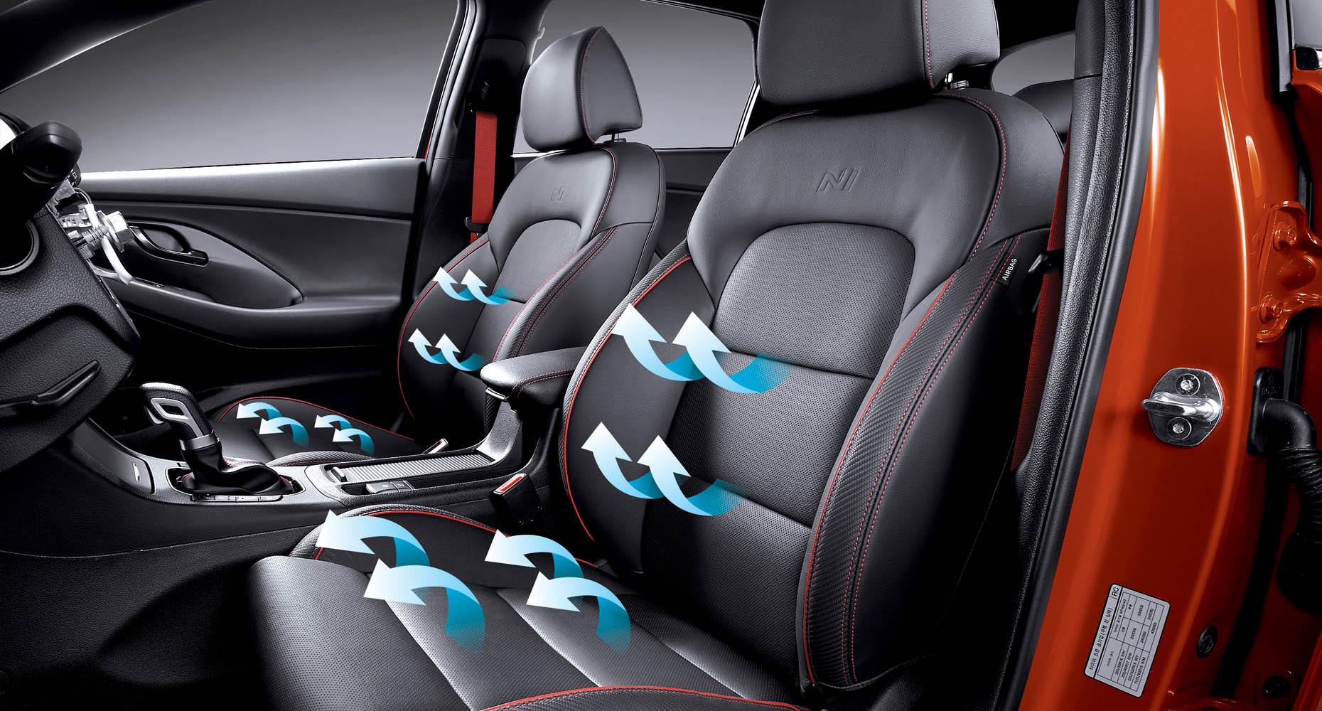 Hyundai Elantra Warning Lights >> Ventilated front seats