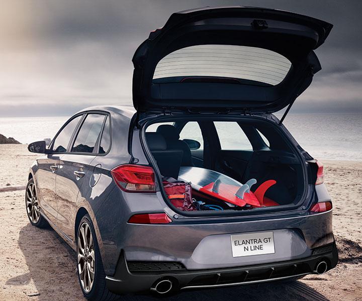 Hyundai Elantra Gt Turbo: Versatile Cargo Space