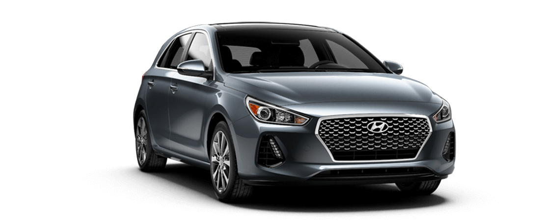 Hyundai ELANTRA GT 2019 Gris fer