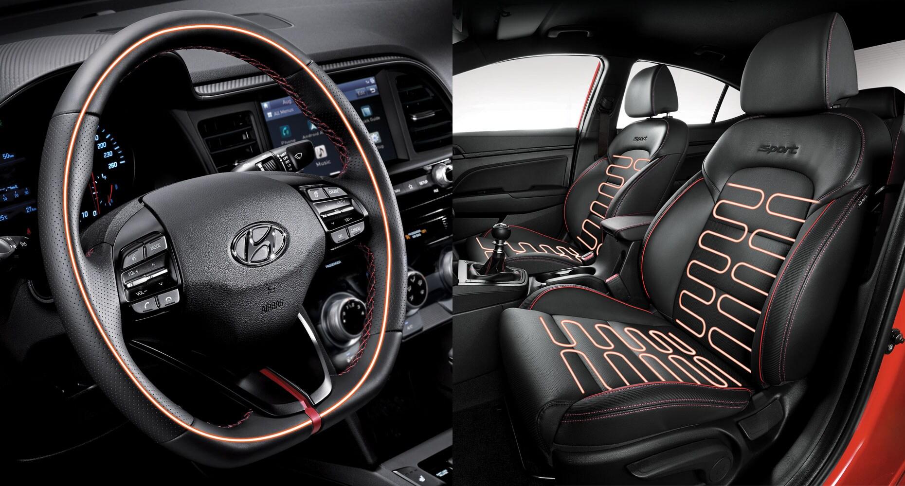 2019 Hyundai Elantra Sport Sporty Style Hyundai Canada