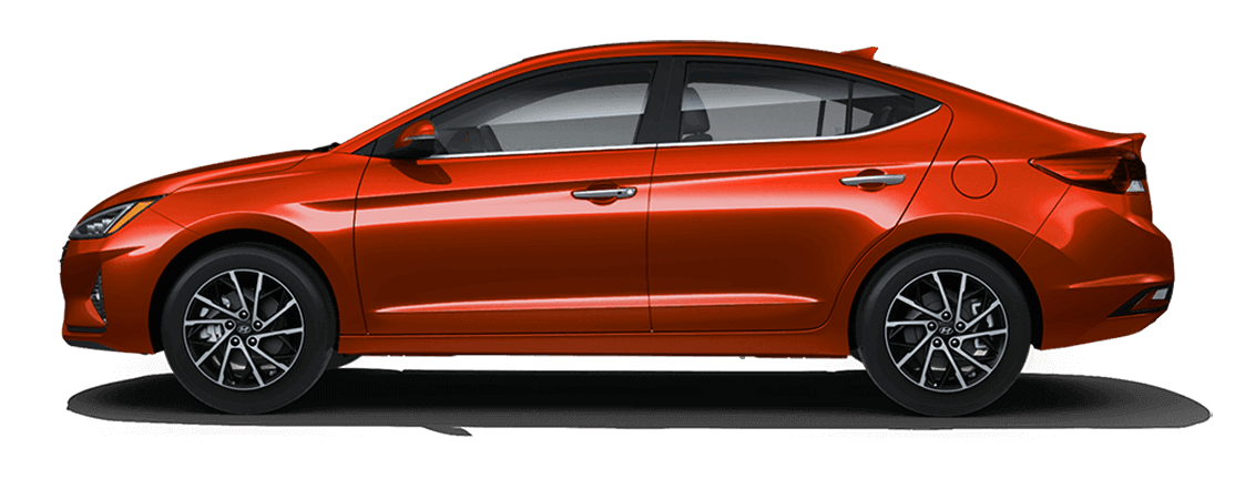 Hyundai ELANTRA 2019 Orange lave
