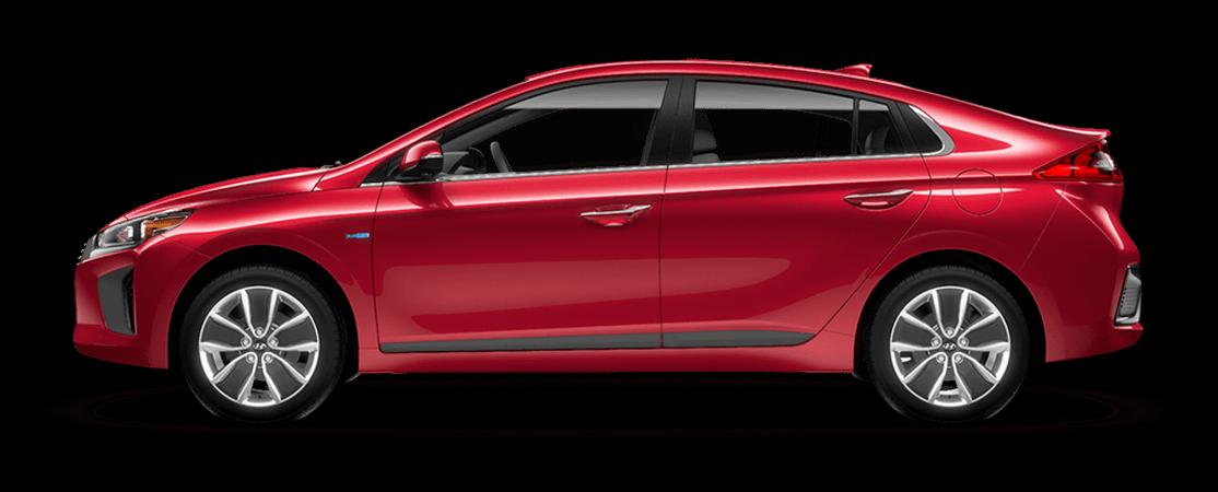 Hyundai IONIQ hybride 2019 Rouge ardent