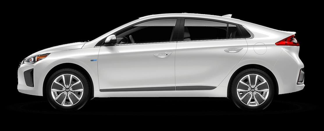 Hyundai IONIQ hybride 2019 Blanc polaire