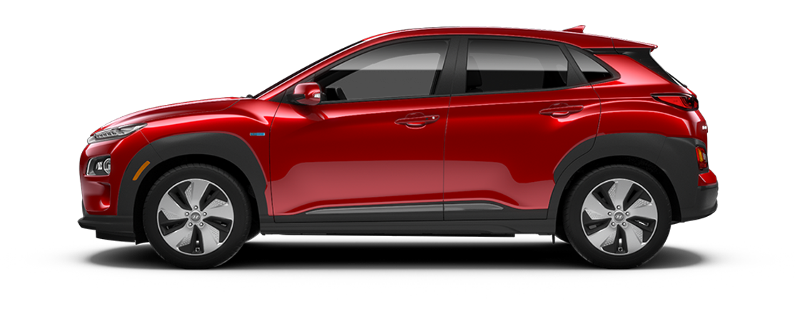 Hyundai KONA électrique 2019 Rouge pulsion