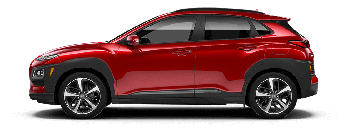 Hyundai KONA 2019 Rouge pulsion