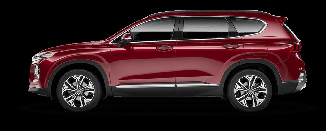 Santa Fe Suv >> All New 2019 Hyundai Santa Fe Suv Crossover Utility