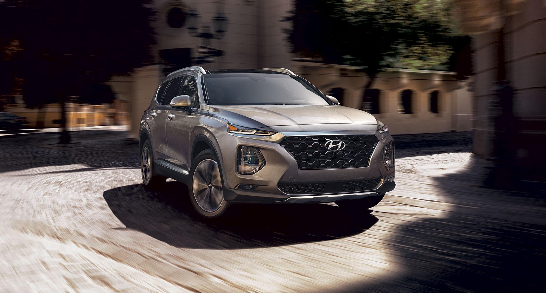 All New 2019 Hyundai Santa Fe Suv Crossover Utility Vehicle