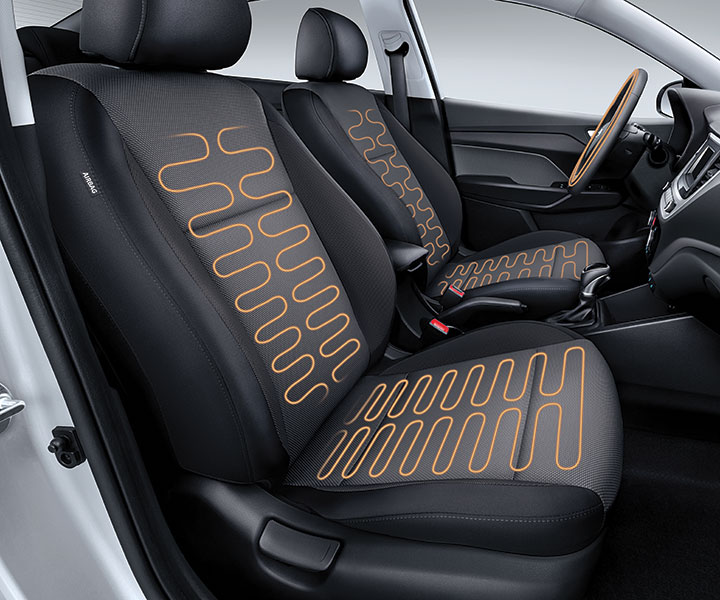 Heated Front Seats And Steering Wheel: Heated Front Seats And Heated Steering Wheel