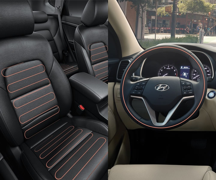 Heated Front Seats, Rear Seats, And Steering Wheel