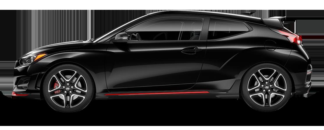 Hyundai VELOSTER N 2019 Noir fantôme
