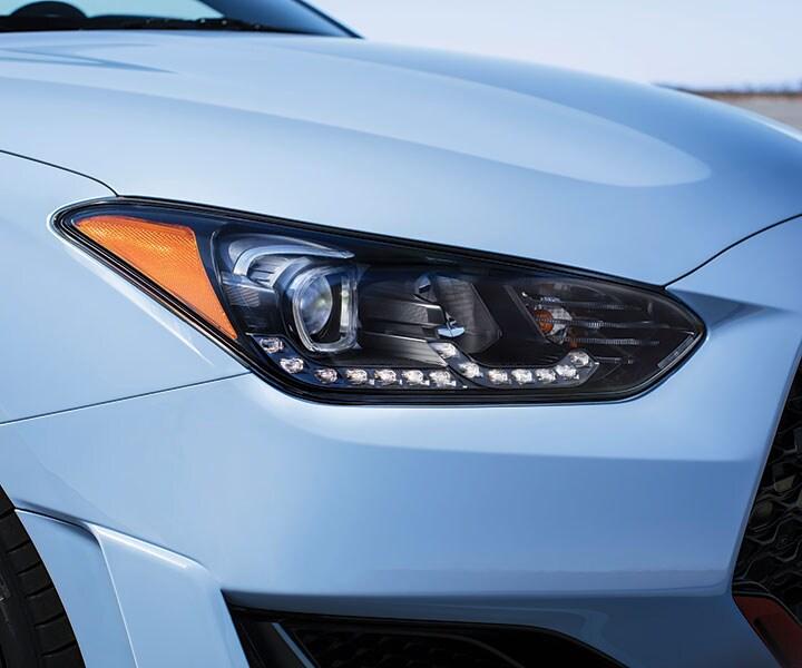 2019 Hyundai Veloster N: LED Headlights