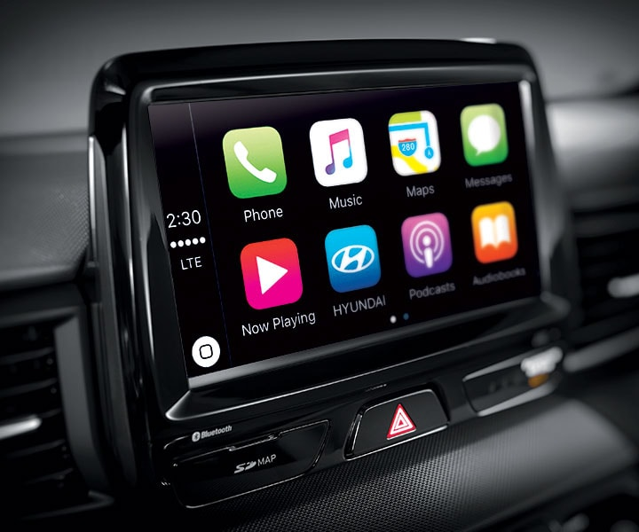 """8.0"""" Touch-screen Display With Apple CarPlay™ And Android"""