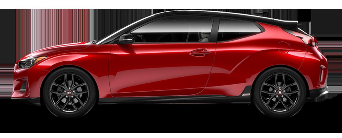 Hyundai VELOSTER 2019 Flamme rouge avec toit noir