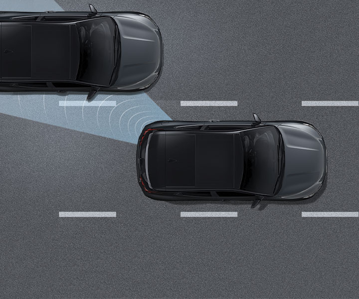 Blind Spot Detection With Lane Change Assist