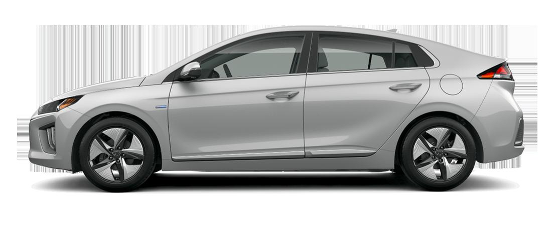 Hyundai IONIQ hybride 2020 Argent typhon