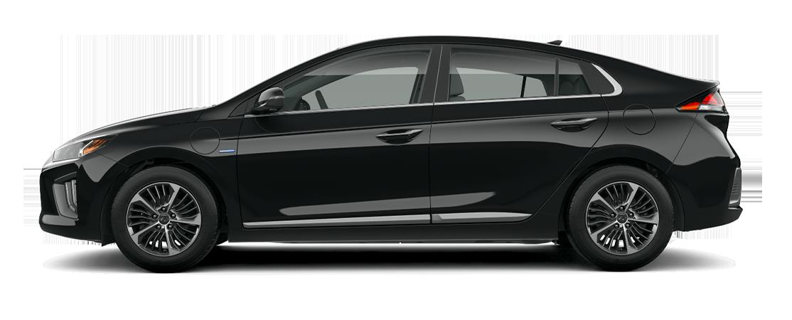 Hyundai IONIQ hybride rechargeable 2020 Noir fantôme