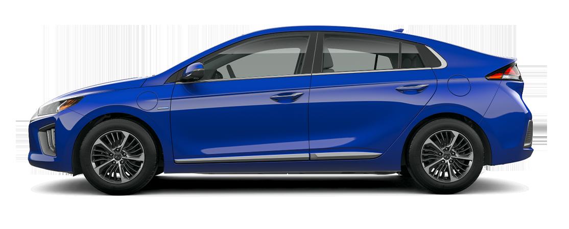 Hyundai IONIQ hybride rechargeable 2020 Bleu intense