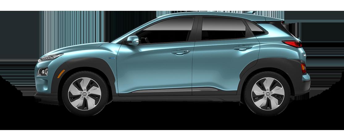 Hyundai KONA électrique 2020 Bleu céramique