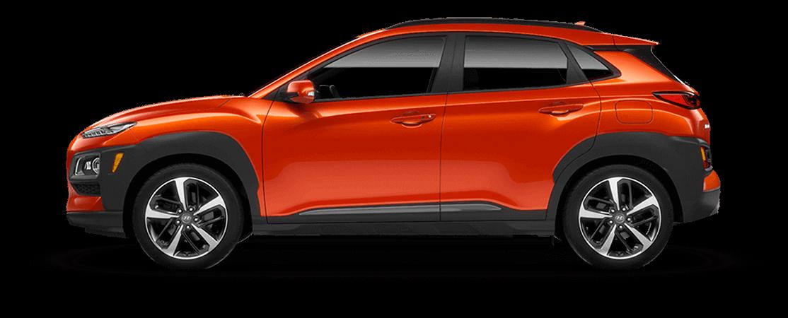 Hyundai KONA 2020 Comète tangerine