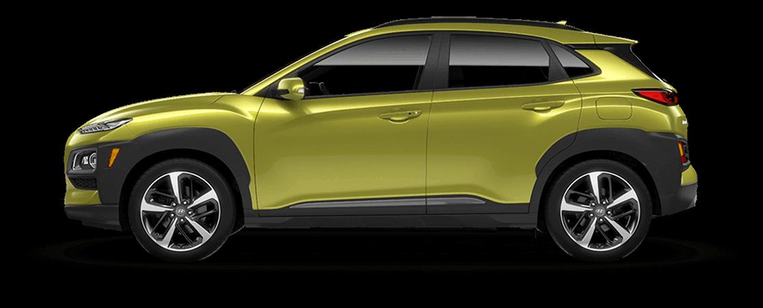 Hyundai KONA 2020 Jaune acide