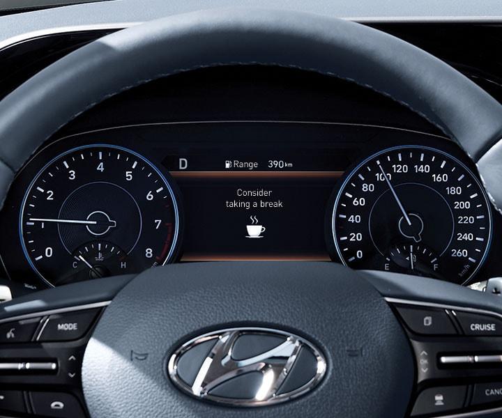 2020 Hyundai Palisade: Driver Attention Warning
