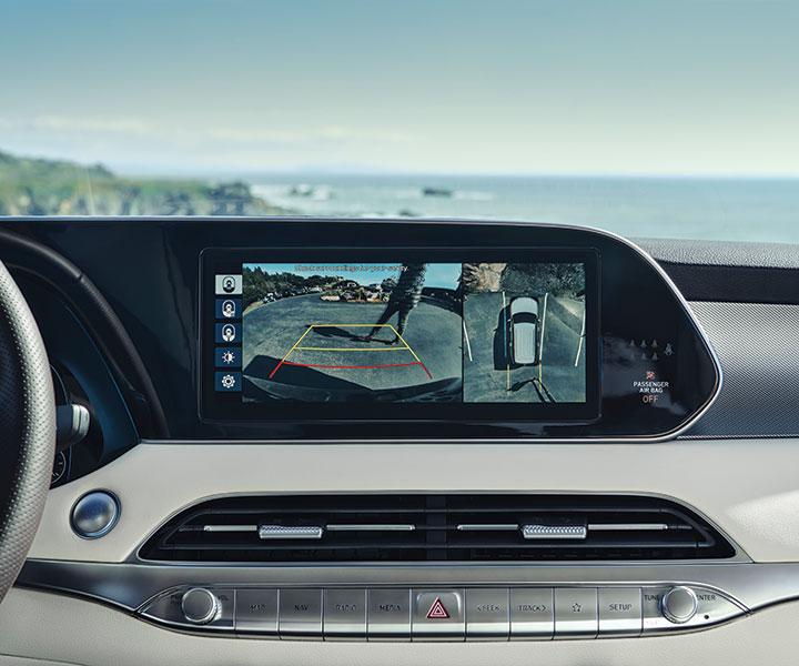 2020 Hyundai Palisade: Système De Caméras Sur 360 Degrés
