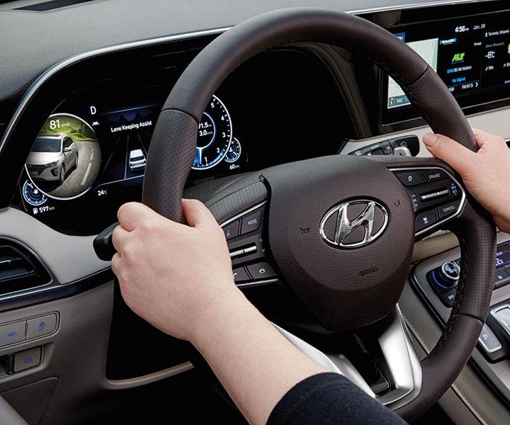 2020 Hyundai Palisade: Moniteur D'angles Morts