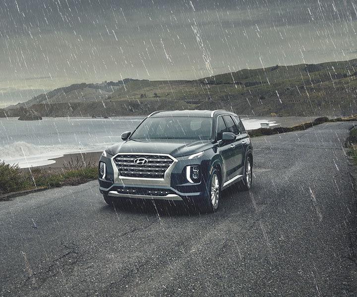 2020 Hyundai Palisade: Rain-sensing Windshield Wipers