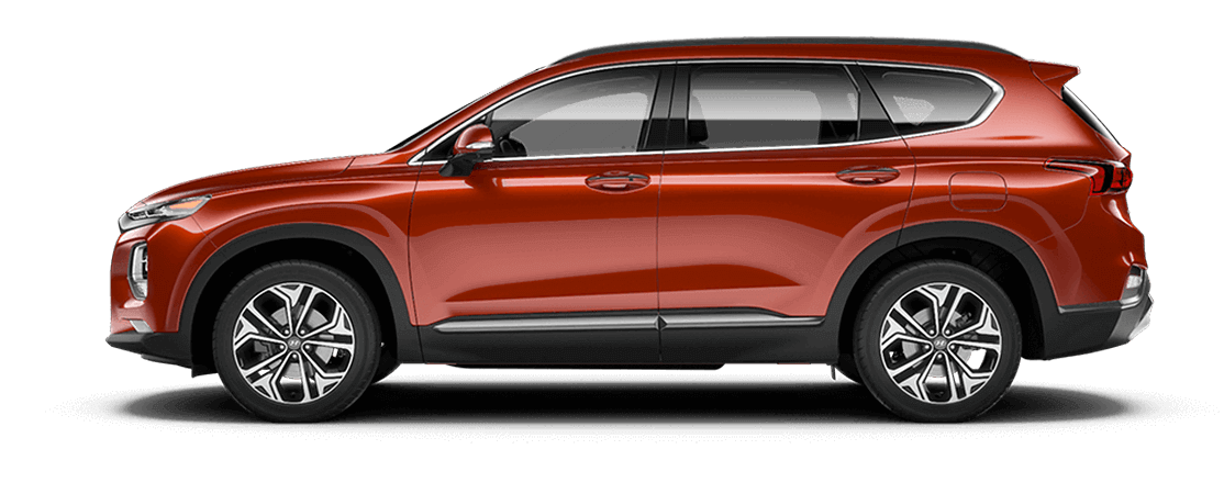 Hyundai SANTA FE 2020 Orange lave
