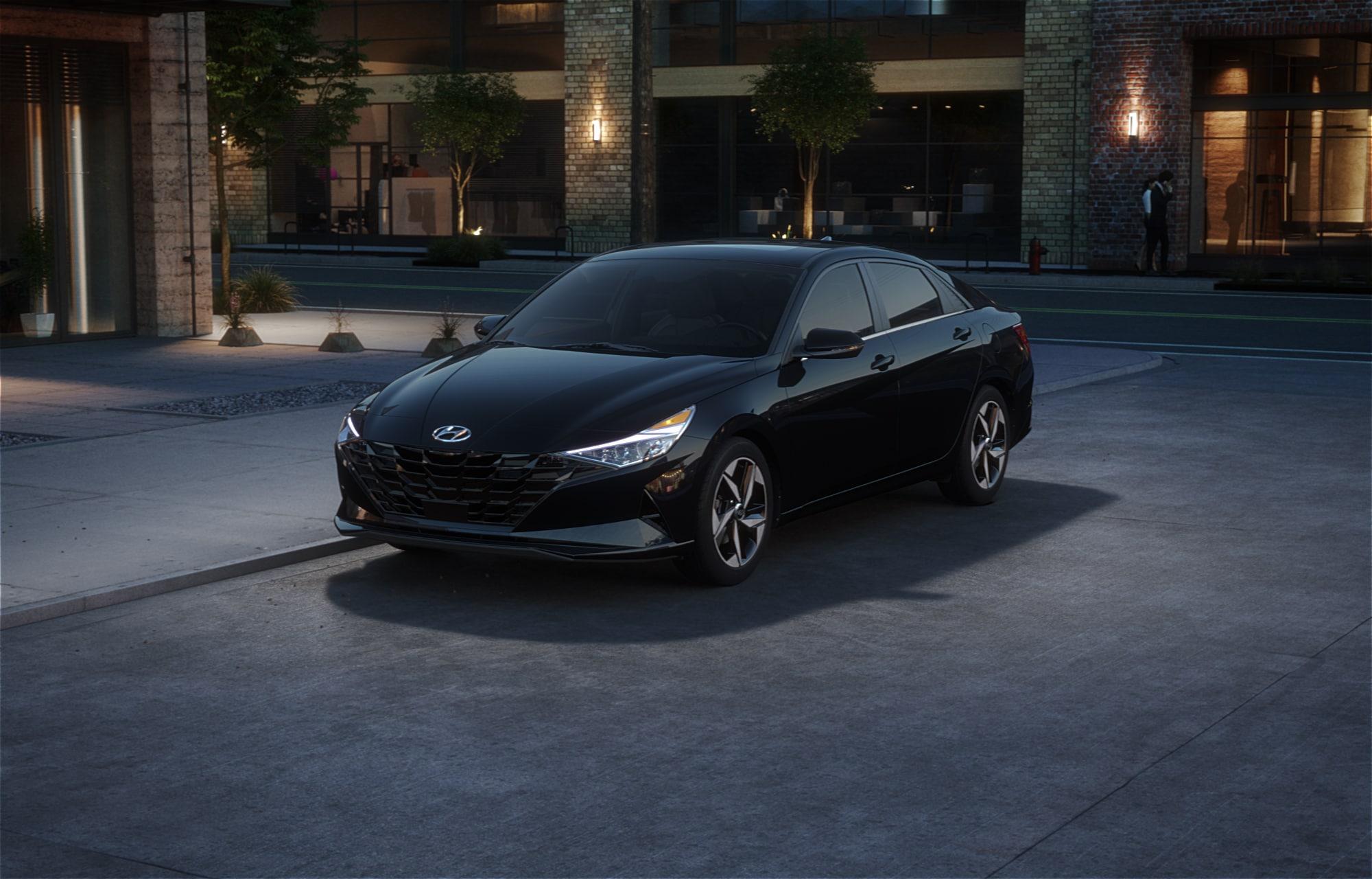 Hyundai ELANTRA 2021 Noir spatial
