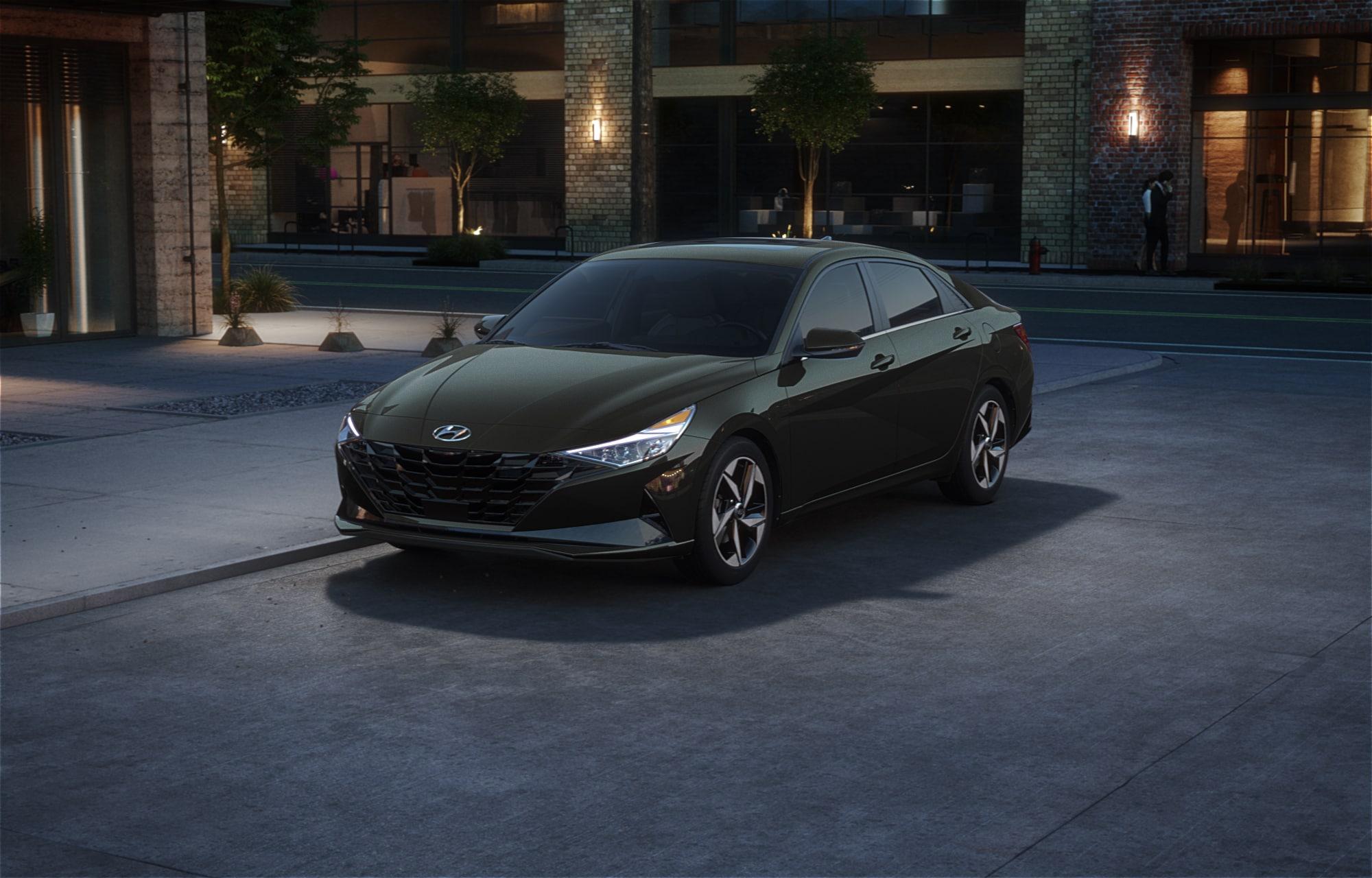 Hyundai ELANTRA 2021 Gris amazone