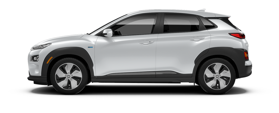 Hyundai KONA électrique 2021 Blanc atlas
