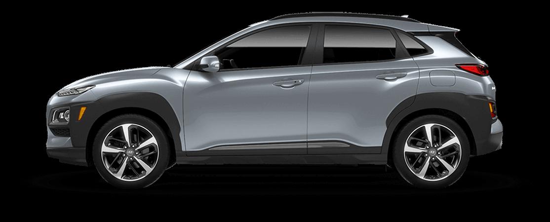 Hyundai KONA 2021 Argent miroitant