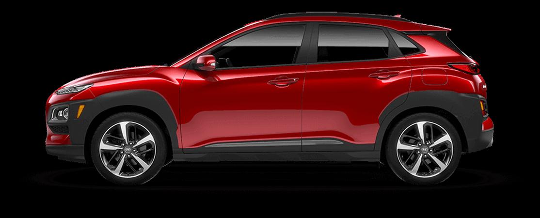 Hyundai KONA 2021 Rouge pulsion
