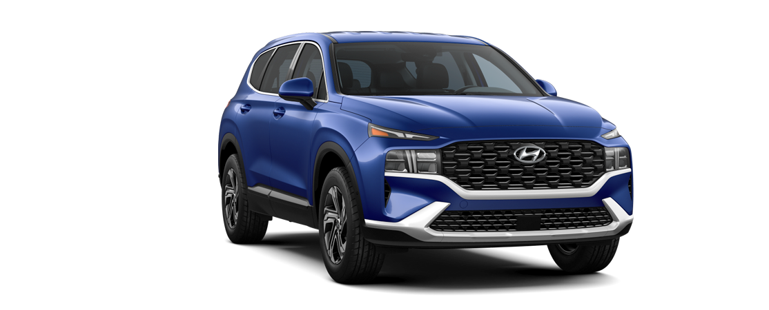 Hyundai SANTA FE 2021 Bleu tempête