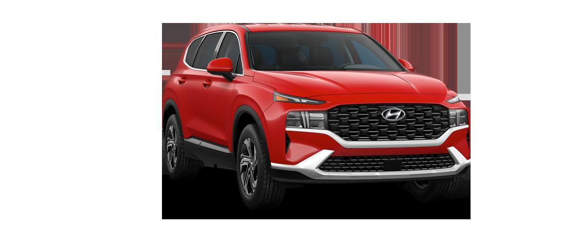 Hyundai SANTA FE 2021 Rouge flamme