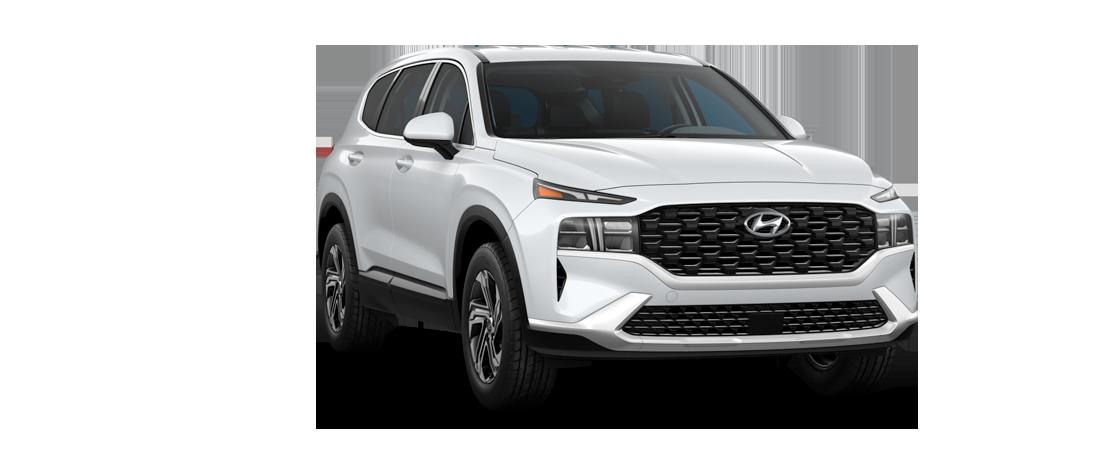Hyundai SANTA FE 2021 Blanc quartz